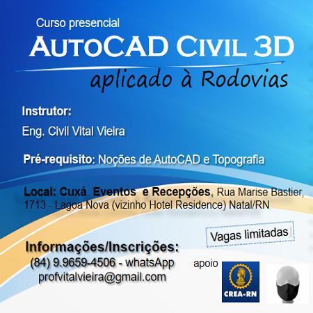 AutoCAD CIVIL 3D aplicado à Rodovias