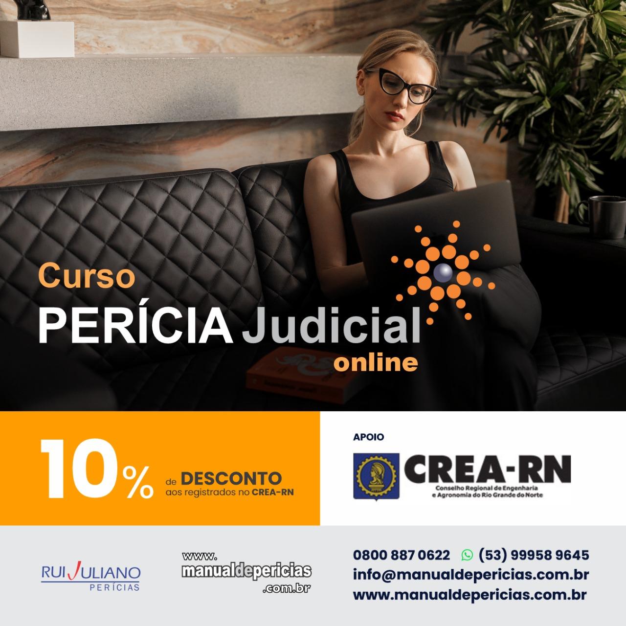 Curso Perícia Judicial Online – (RUI JULIANO)