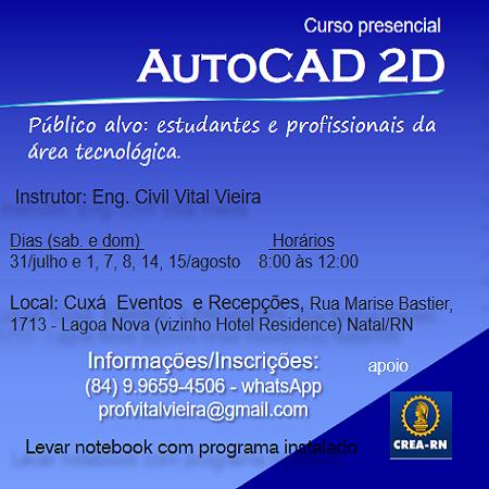 AutoCAD 2D - Vital Maria