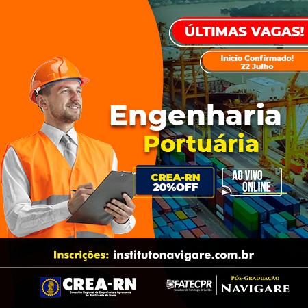 Pós em Engenharia Portuária (Instituto Navigare)