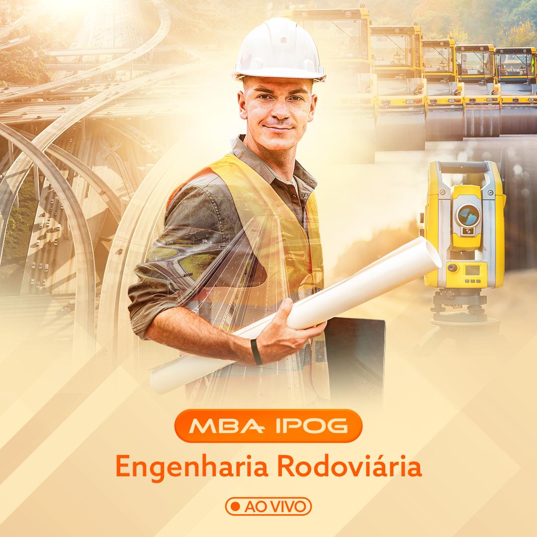 MBA ENGENHARIA RODOVIÁRIA – Ao vivo e online – Ao vivo e online – (IPOG)