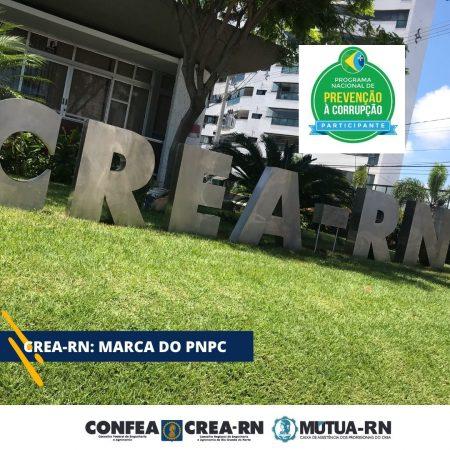 CREA-RN recebe marca do Programa Nacional de Prevenção à Corrupção